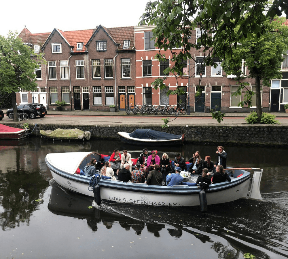 Varen met borrel Haarlem